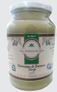 Biomassa de Banana Verde (550g)
